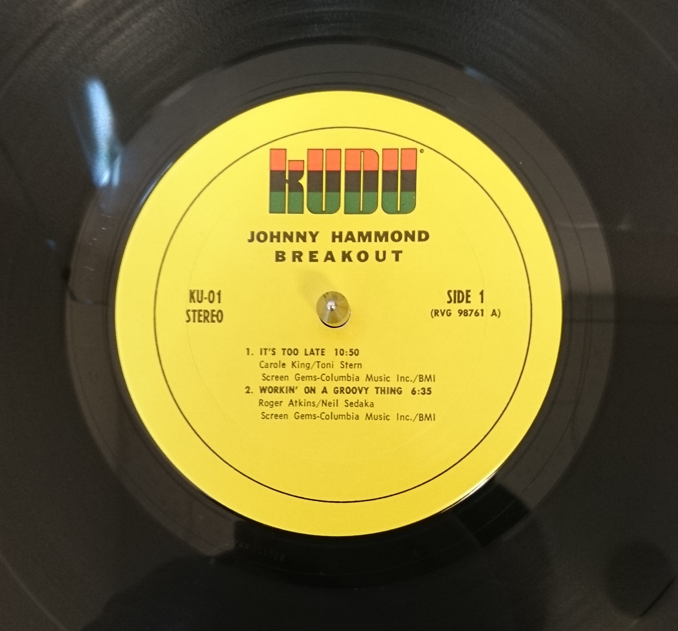 Johnny Hammond - Breakout