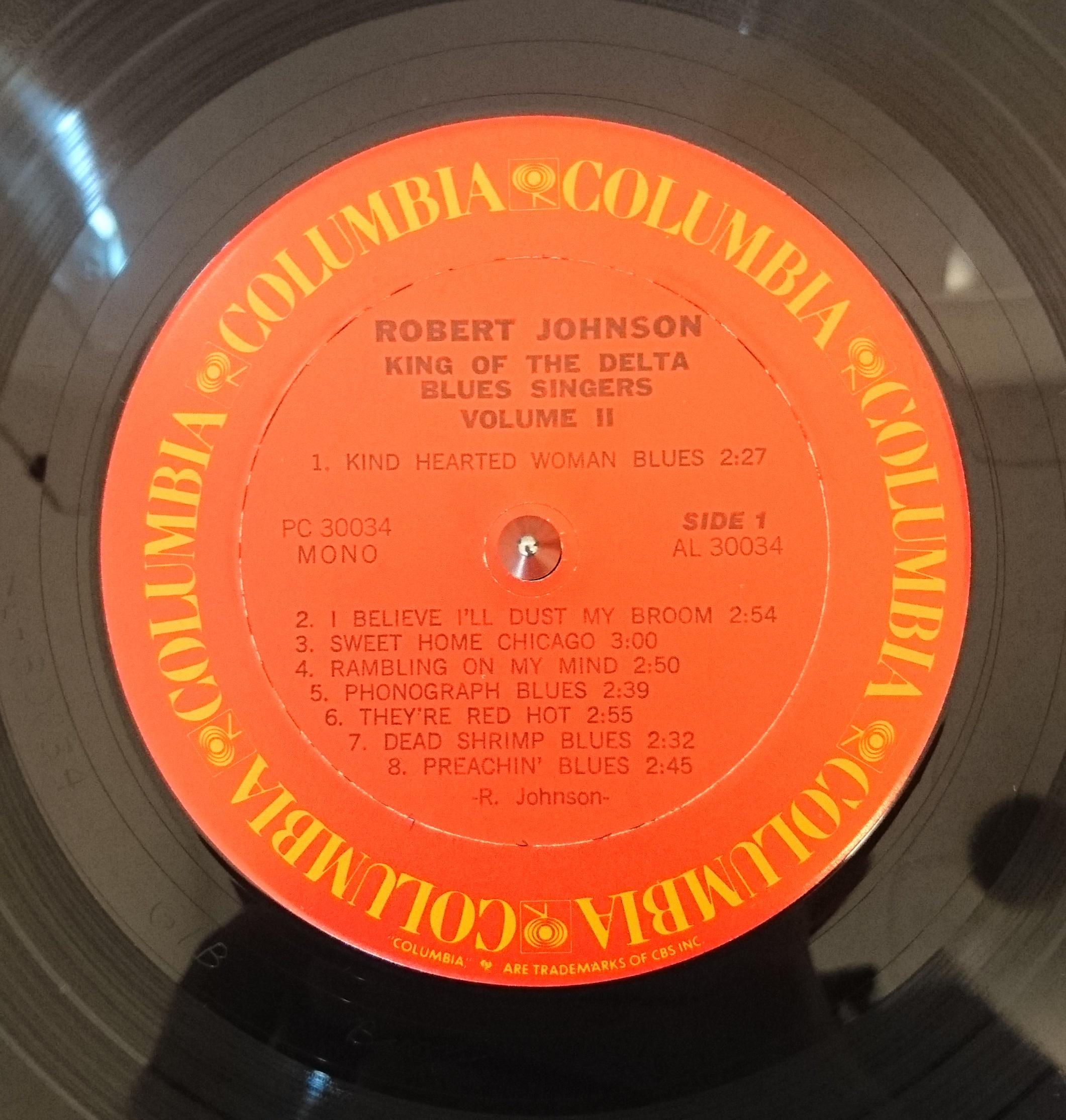 ジャズ、ロック、ソウルなどの中古レコード販売・買取「akaru records(アカル・レコーズ)」Robert Johnson / King Of The Delta Blues Singers, Vol. 2
